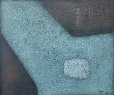 Lot 62 - Terry WHYBROW (1932-2020) Painting 83 Oil on...