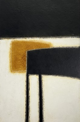 Lot 64 - Terry WHYBROW (1932-2020) Painting 52 Oil on...