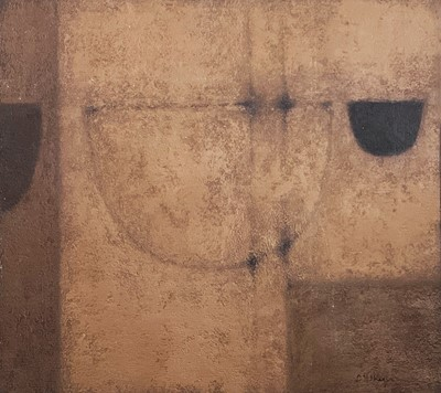 Lot 66 - Terry WHYBROW (1932-2020) Abstract boat hulls...