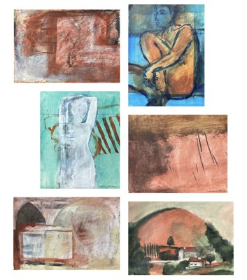 Lot 28 - Naomi FREARS (1963) Various loose works Mostly...
