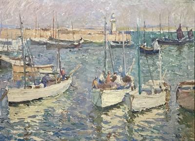 Lot 50 - John Anthony PARK (1880-1962) St Ives Harbour...