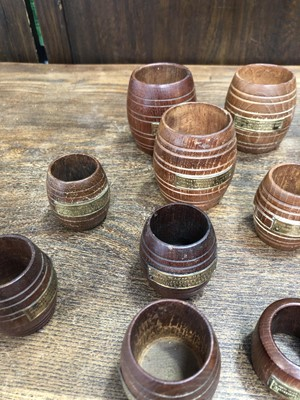 Lot 34 - Items made from the teak of the H.M.S Iron...