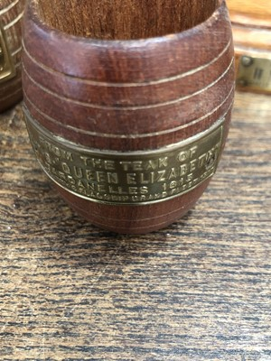 Lot 29 - Maritime interest, various items made from the...