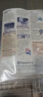 Lot 36 - A Husqvarna Minett 2 table-top dishwasher.