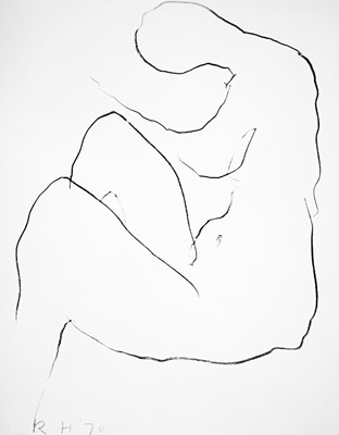 Lot 12 - Roger HILTON (1911-1975) Untitled Nude Mixed...