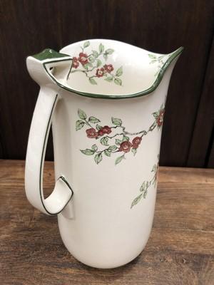 Lot 23 - A large Royal Doulton ceramic jug decorated...