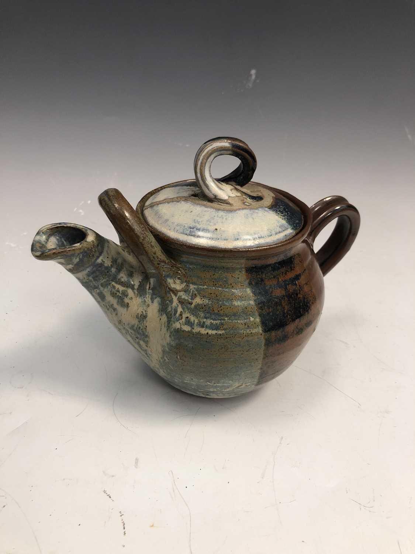 Lot 27 - A Lynda Jewell Pierrot pottery Redruth teapot,...