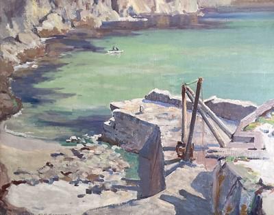 Lot 7 - Stanley Horace GARDINER (1887-1952) Lamorna...