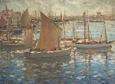 Lot 6 - Grant REYNARD (1887-1968) (American) Fishing...