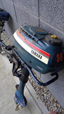 Lot 4 - Outboard motor engine, YAMAHA 3.5