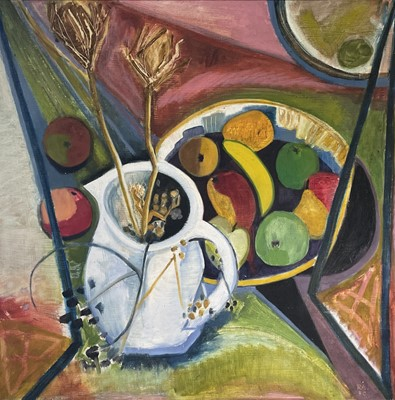 Lot 30 - Ray AMBROSE (1926-1989) Still Life II (Mirror...