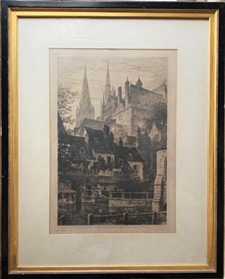 Lot 15-Axel Herman HAIG (1835-1921)