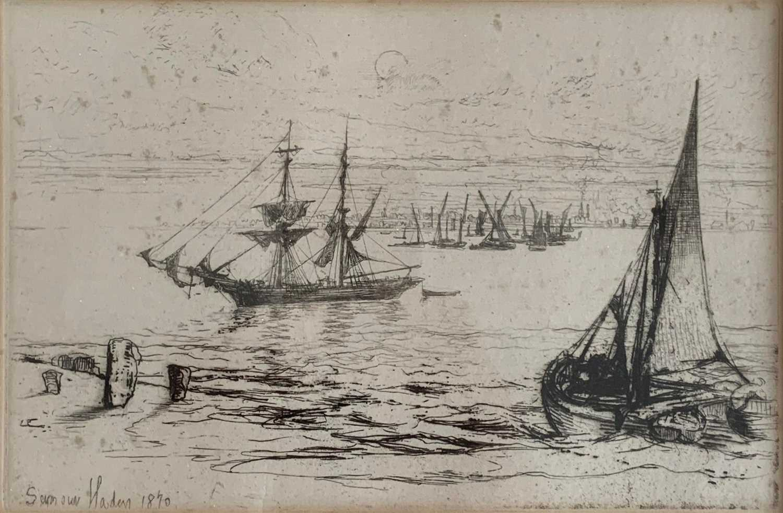 Lot 2-Francis SEYMOUR-HADEN (1818-1910)