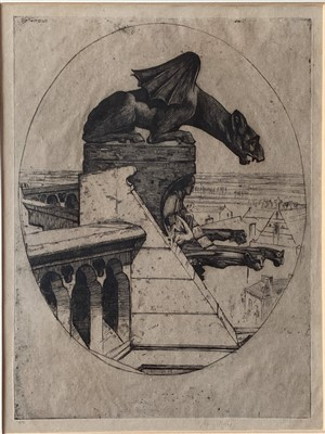 Lot 45-David Young CAMERON (1865-1945)