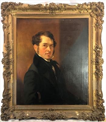Lot 2-English School, 19th Century Portrait of Charles...