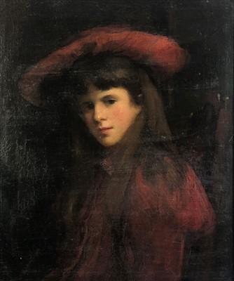 Lot 5-James COUTTS MICHIE (1861-1919) Portrait of a...